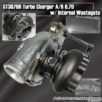GT3076R TURBO CHARGER WITH T25 EXHAUST HOUSING AND INTERNAL WASTEGATE