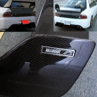 RALLIART STYLE FULL CARBON FIBER AERO DYNAMIC MITSUBISHI LANCER / EVO SPOILER WING