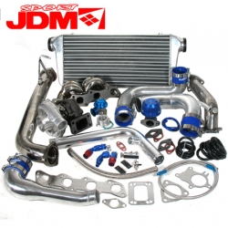 JDM SPORT T3/T4 TURBO KIT FOR NISSAN 240SX KA24DE 2.4L DOHC ENGINE