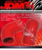 JDM SPORT 2 INCH 90 DEGREE REINFORCED SILICONE HOSE RED 4 LAYERS POLYESTER COUPLER