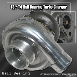JDM SPORT T3/T4 A/R .63 BALL BEARING TURBOCHARGER