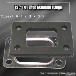 T3/T4 STEEL TURBO MANIFOLD FLANGE