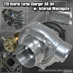 JDM SPORT T28 GT28 HYBRID TURBOCHARGER A/R 0.64
