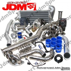 MITSUBSIHI ECLIPSE 95 96 97 98 99 COMPLETE BOLT ON TURBO KIT 2ND GEN 2WD
