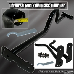 UNIVERSAL BLACK FLOOR BAR / FLOOR BRACE