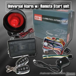 UNIVERSAL JDM CAR ALARM SECURITY SYSTEM WITH REMOTE START