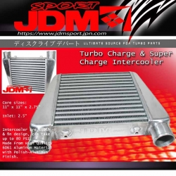 JDM SPORT UNIVERSAL 11&quot;x11&quot;x2.75&quot;  INTERCOOLER