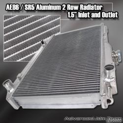 84 85 86 87 TOYOTA COROLLA AE86 GTS / SR5 RACING RADIATOR MT