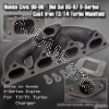 JDM SPORTS HONDA CIVIC / DEL SOL D-SERIES ENGINE RACE SPEC TURBO MANIFOLD