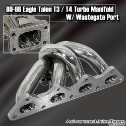 89 90 91 92 93 94 95 96 97 98 EAGLE TALON TURBO STAINLESS STEEL T3/T4 TURBO MANIFOLD
