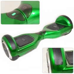Parkoo 3rd Gen Electric Balance Scooter Green with Black Treading
