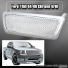 04 05 06 07 08 FORD F150 DIAMOND STYLE GRILLE CHROME