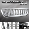 2002 - 2005 Ford Explorer 4 dr Door SUV Chrome Front Hood Vertical Grill Grille