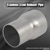 """2"""" OD TO 2.5"""" OD STAINLESS STEEL REDUCER PIPE CUSTOM FOR INTERCOOLER / TURBO / EXHAUST PIPING"""