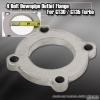 """4 BOLT GT30 GT35 GT35R DOWNPIPE 2.5"""" ROUND WELDABLE OUTLET FLANGE"""
