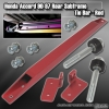 90 91 92 93 94 95 96 97 HONDA ACCORD EX / DX / LX REAR LOWER TIE BAR SUBFRAME BRACE RED