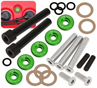 Acura Honda D Series D15 D16 Jdm Low Profile Engine Valve Cover Washer Bolt Green