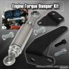 Acura Integra 94, 95, 96, 97, 98, 99, 00, 01 Engine Damper with 6 inch Shock Chrome