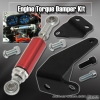 Acura Integra 94, 95, 96, 97, 98, 99, 00, 01 Engine Damper with 6 inch Shock Red