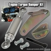 Acura RSX 02, 03, 04, 05, 06 Engine Damper with 6 inch Shock Chrome