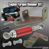 Honda Accord 03, 04, 05, 06, 07, 08, 09, 10 Engine Damper with 6 inch Shock Red
