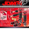 JDM SPORT 11 12 13 HYUNDAI GENESIS COUPE FULLY ADJUSTABLE SUSPENSION DAMPER RED COILOVER SYSTEM