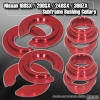 NISSAN 180SX / 200SX / 240SX / 300ZX / S13 / S14 / S15 89 90 91 92 93 94 95 96 97 98 99 00 01 02 REAR SUBFRAME COLLARS