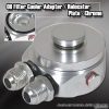 OIL COOLER ADAPTER / RELOCATER KIT CHROME - 10AN FITTING
