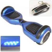 Parkoo 3rd Gen Electric Balance Scooter Blue with Black Treading