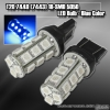 1 PAIR OF 18 SUPER BRIGHT T20 SMD LEDS BULB BLUE