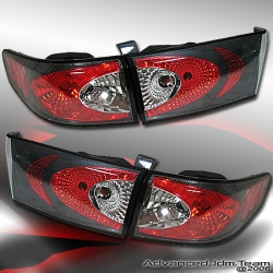 03 04 05 HONDA ACCORD TYC TAIL LIGHTS CARBON FIBER 4 DOOR