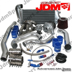 MITSUBISHI ECLIPSE 95 96 97 98 99 DSM 4G63 JDM SPORT TURBO UPGRADE T3/T4 EXTERNAL WASTEGATE KIT