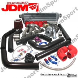 MITSUBISHI ECLIPSE 89 90 91 92 93 94 95 96 97 98 99 DSM 4G63 DIY TURBO UPGRADE T3/T4 INTERNAL WASTEGATE KIT