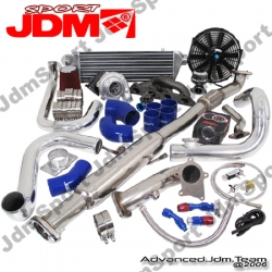 00 01 02 03 04 05 MITSUBISHI ECLIPSE 3G 4G64 2.4L 4CYL JDM SPORT UPGRADED BOLT ON TURBO KIT