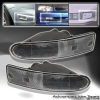 00 01 02 MITSUBISHI ECLIPSE FRONT BUMPER LIGHTS BLACK