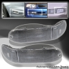 00 01 02 MITSUBISHI ECLIPSE REAR BUMPER LIGHTS BLACK