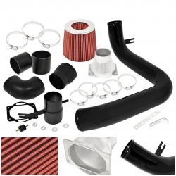 02-05 Mitsubishi Lancer 2.0L Manual Cold Air Intake + Stainless Steel Red Filter