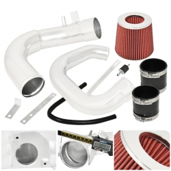 04-09 Mazda 3 L4 4Cyl Performance Cold Air Induction Intake Filter System Polish