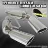 05 06 07 08 09 FORD MUSTANG V8 4.6L SOHC GT AXLE BACK STAINLESS STEEL EXHAUST SYSTEM