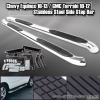 05-09 CHEVY EQUINOX & 10-13 GMC TERRAIN T-304 STAINLESS STEEL SIDE STEP NERF BARS RUNNING BOARD