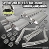 05, 06, 07, 08, 09, 10 Chrysler 300C 5.7L High Flow Dual Exhaust Stainless Steel Catback