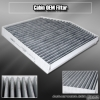 09 10 11  A4 / A5 / S5 / Q5 BRAND NEW OEM REPLACEMENT ACTIVE CARBON CABIN AIR FILTER