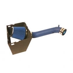 2003-2008 Dodge Ram 1500 2500 V8 High Flow Induction Air Intake System + Heat Shield + Blue Wrinkle Piping Kit