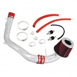 "2008-2011 HONDA ACCORD V6 3.5L CHROME PIPING AIR INDUCTION INTAKE WITH 3"" FILTER"