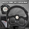 320MM BATTLE STYLE STEERING WHEEL BLACK