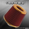 3 inch Universal Filter Gold Top / Red Body / Gold Bottom