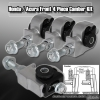 88 89 90 91 92 93 94 95 HONDA CIVIC 4 PIECE FRONT CAMBER KIT SILVER