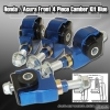 90 91 92 93 94 95 96 97 98 99 00 01 ACURA INTEGRA 4 PIECE FRONT CAMBER KIT BLUE