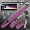 90 91 92 93 94 95 96 97 HONDA ACCORD EX / DX / LX REAR LOWER TIE BAR SUBFRAME BRACE PURPLE