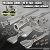 90,91, 92, 93, 94, 95, 96, 97, 98, 99, 00, 01 Mitsubishi 3000GT High Flow Dual Exhaust Stainless Steel Catback